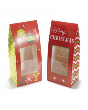 30pz-scatole-regalo-natalizia-in-carta-colorata-merry-christmas-con-vetrinetta-misure-cm-10-5-x-7-5-x-22-5-h